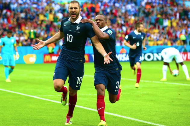 France vs. Honduras: Live Score, Highlights for World Cup 2014 Group E Game