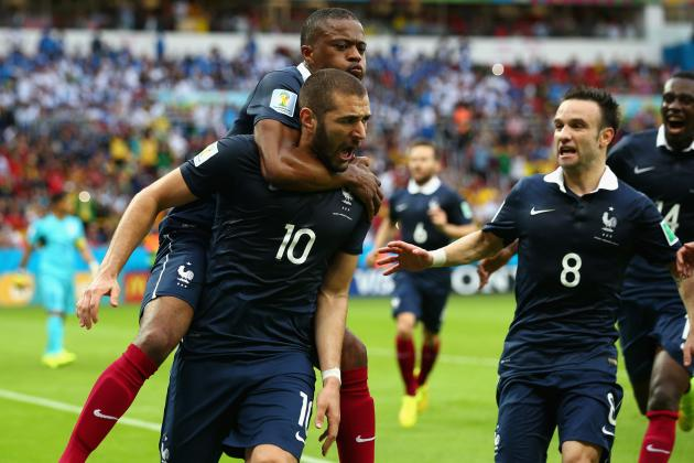 Twitter Reacts to Karim Benzema, Mathieu Valbuena's Performances vs. Honduras