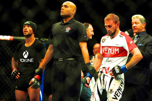 UFC 174: Fans Exit Early from Demetrious Johnson's Dominant Title Fight