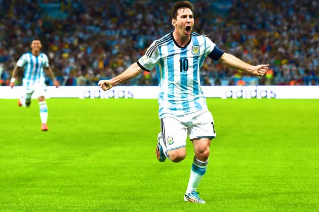 Argentina vs. Bosnia: Live Score, Highlights for World Cup 2014 Group F Game