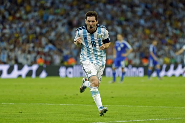 Twitter Reacts to Lionel Messi, Sergio Aguero's Performances vs. Bosnia