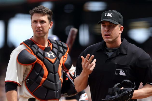 Posey Passes Concussion Tests After Scary Foul Tip