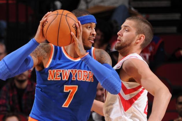 Houston Rockets Make More Sense Than Chicago Bulls for Carmelo Anthony