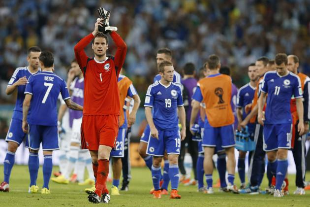 More Positives Than Negatives for Bosnia After Loss to Lionel Messi's Argentina