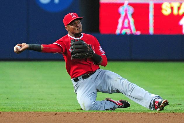 Aybar Leaves Game with Sore Left Hip