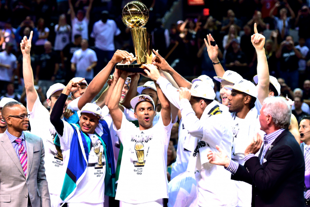 Heat vs. Spurs: Game 5 Score and Twitter Reaction from 2014 NBA Finals