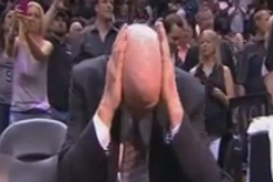 Tim Duncan and Gregg Popovich Show Rare Emotion