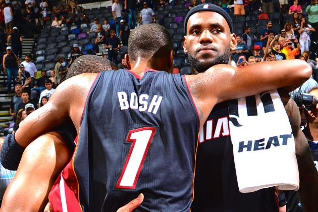 LeBron James, Chris Bosh, Ray Allen Vague on Future with Heat After Finals Loss