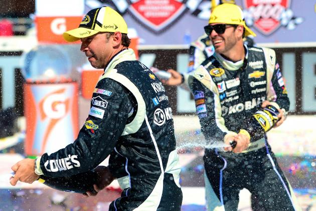 Why Jimmie Johnson Is the Clear 2014 Sprint Cup Favorite After Win at Michigan