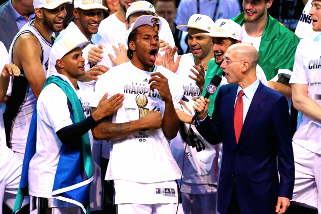 No End in Sight to Spurs' Dynasty Thanks to 2014 Finals MVP Kawhi Leonard