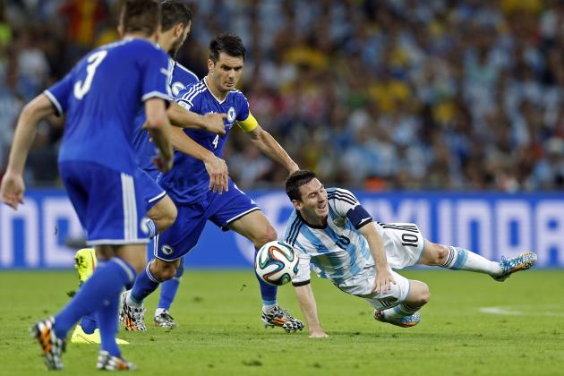 Lionel Messi Admits He Suffered in Argentina World Cup Win over Bosnia