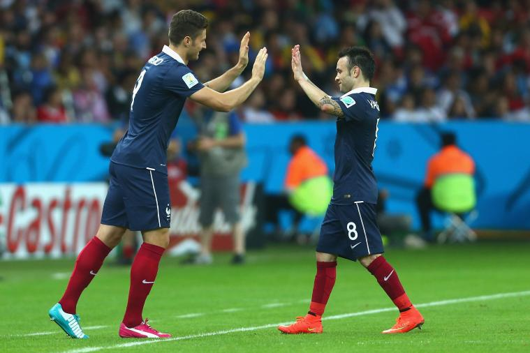 Mathieu Valbuena Is Still Short, as Images from France vs. Honduras Show