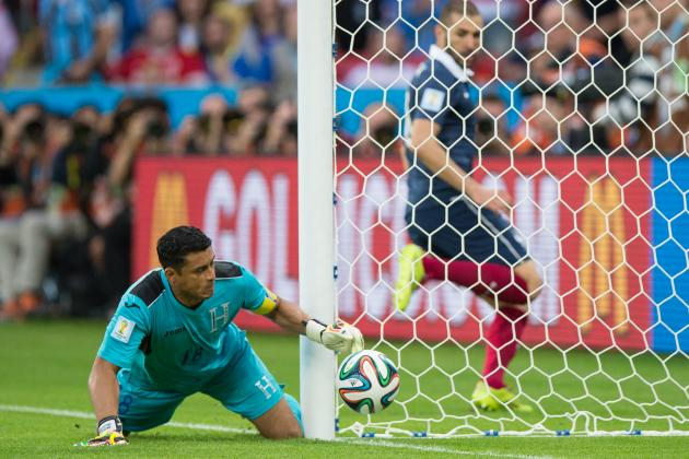 Honduras Confused by Goalline Judgement