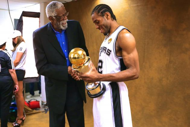 Kawhi Leonard Named MVP of 2014 NBA Finals