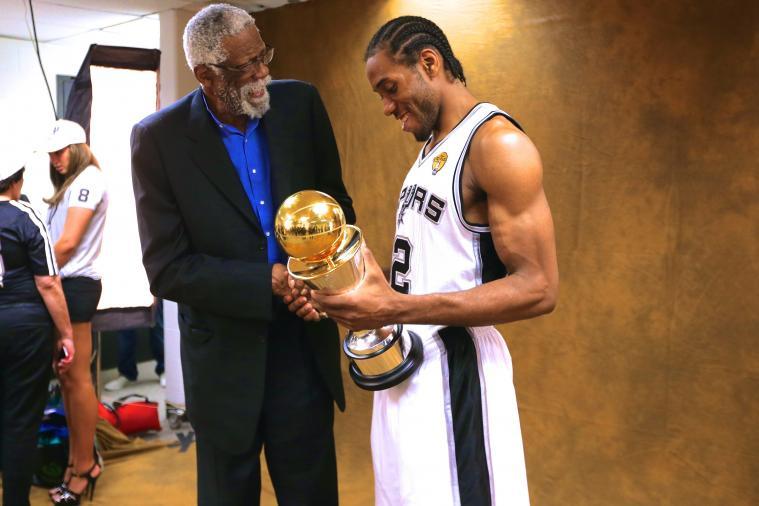 Kawhi Leonard Named MVP of 2014 NBA Finals