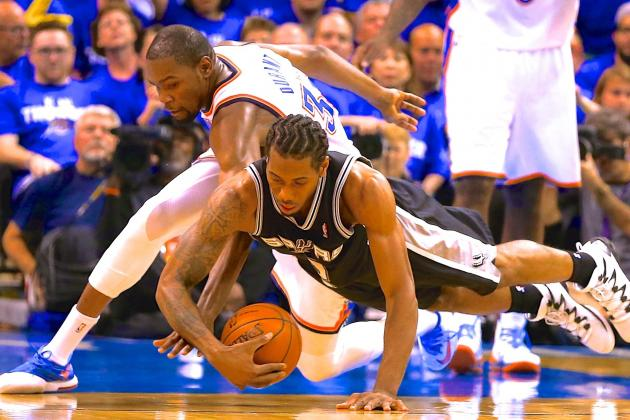 Kevin Durant Believes Kawhi Leonard Is Product of Spurs System