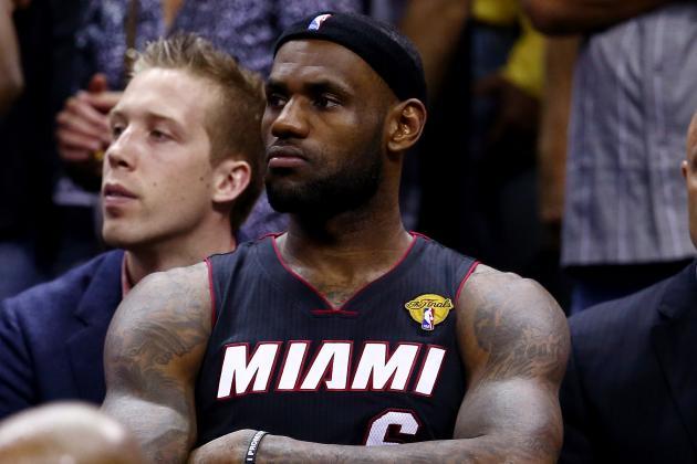 Blaming LeBron James for Miami Heat NBA Finals Loss Misses the Mark