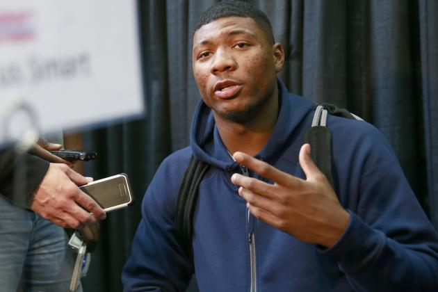 Marcus Smart Shines in Celtics Workout