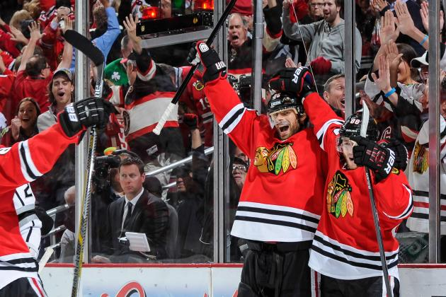 'Hawks Say Good-Bye to Handzus; Who Will Play 2C?