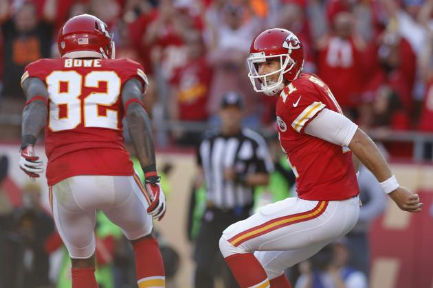 Chiefs' Dwayne Bowe: Alex Smith Like a Brother-in-Law