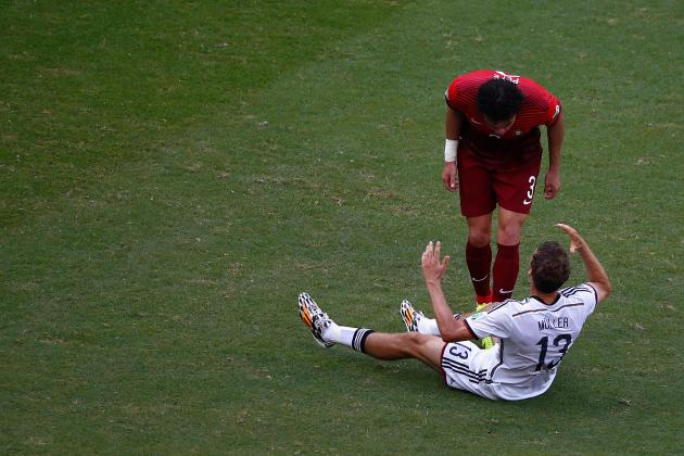 Twitter Reacts to Pepe's Red Card During Germany vs. Portugal