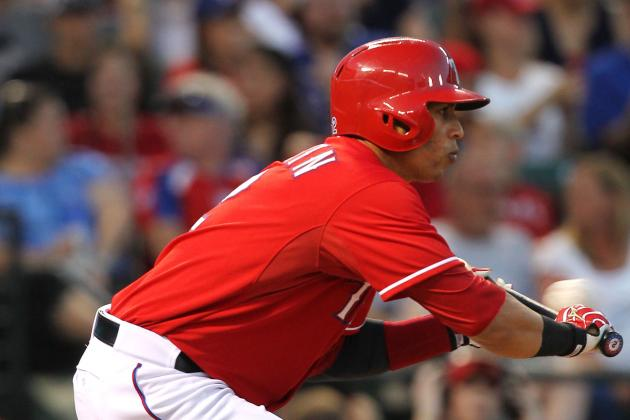 Leonys Martin Hopes for Permanent Stay in Rangers' Leadoff Spot