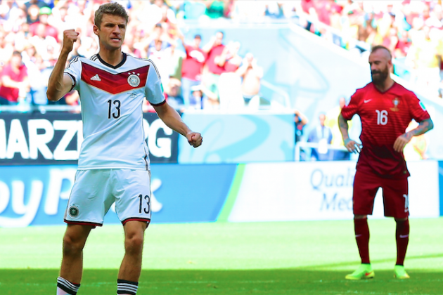 Germany vs. Portugal: Live Score, Highlights for World Cup 2014 Group G Game