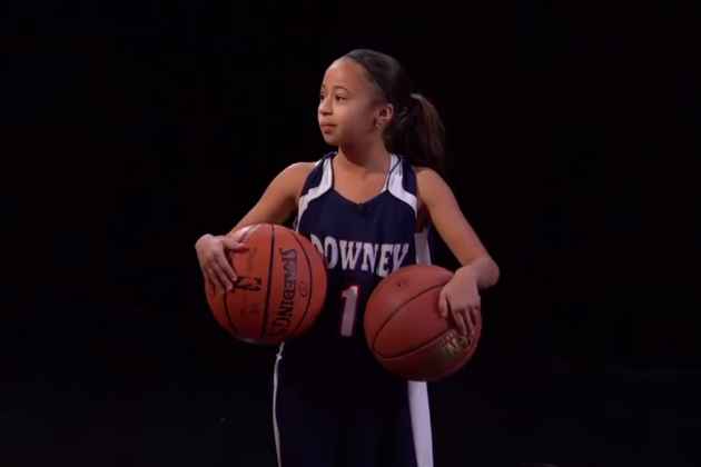University of Miami Recruiting 9-Year-Old Basketball Star Jaden Newman