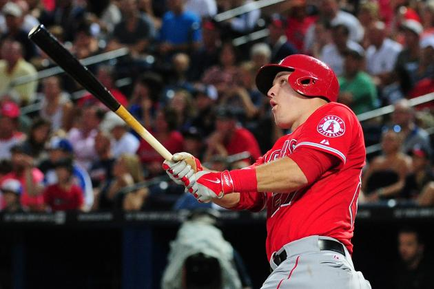Trout's Results Are Big, Because His Swing Isn't