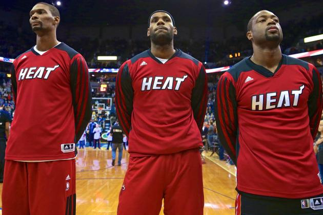 Chris Bosh Thinks Miami Heat Big 3 Will Stay Together for 2014-15 Season