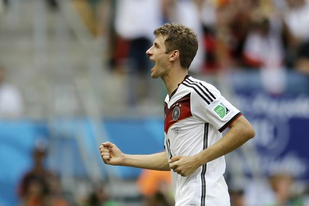 Thomas Mueller Shows Jogi Low Was Right to Not Focus on Strikers for Germany