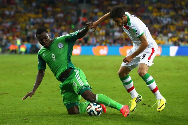 Iran vs. Nigeria: Live Player Ratings