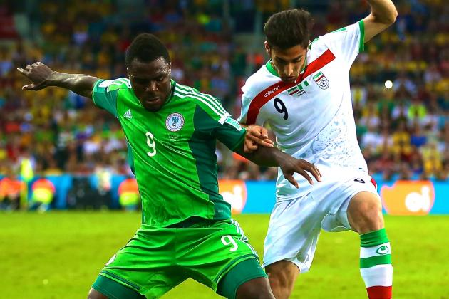 Iran vs. Nigeria: World Cup Group F Score, Grades a Post-Match Reaction