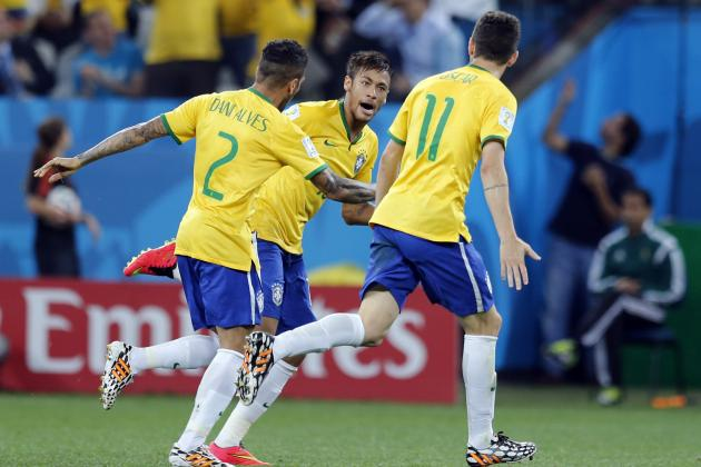 World Cup 2014 Predictions: Final-Score Projections for Day 6 Group Play