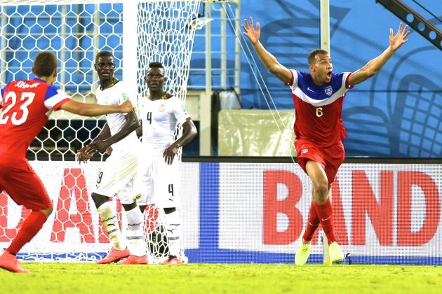 Ghana vs. USA: Live Score, Highlights for World Cup 2014 Group G Game
