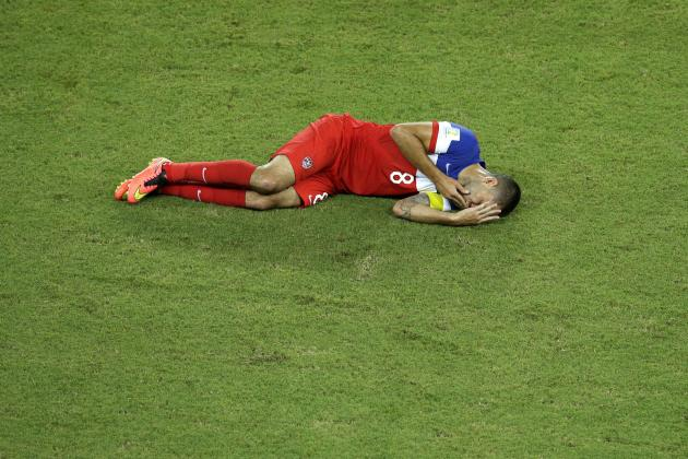 Clint Dempsey Injury: Updates on USA Forward's Broken Nose and Recovery