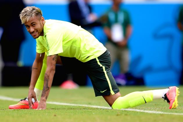 Neymar and Brazil Will Cut Mexico's Chances of Qualifying from World Cup Group A