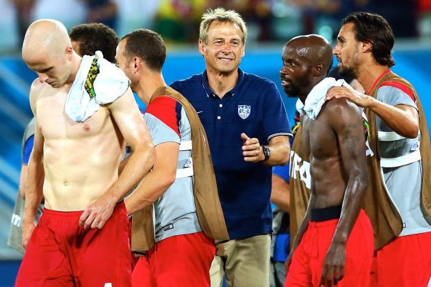 Jurgen Klinsmann's Management Helps USMNT Overcome Adversity vs. Ghana
