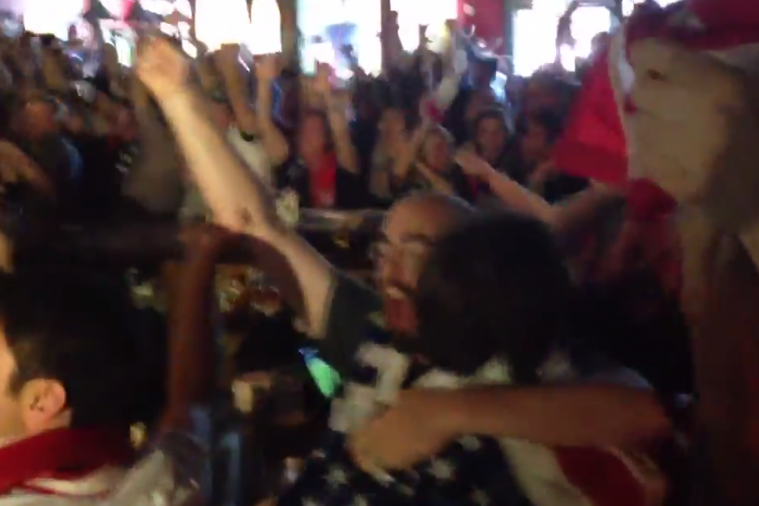 Americans React to John Brooks' World Cup Game-Winner for the US