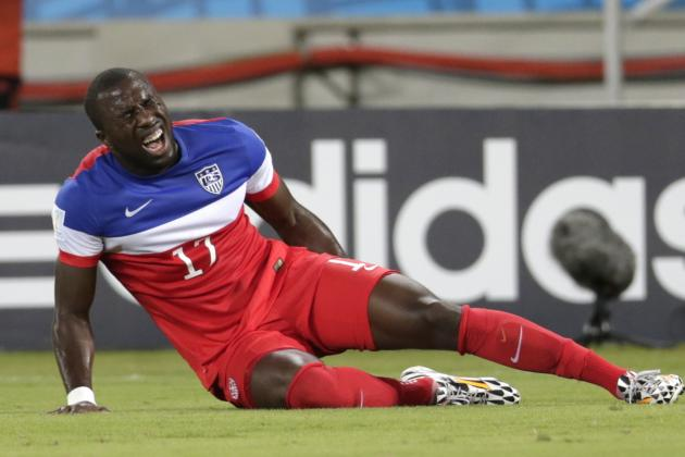 Will Hamstring Injuries Cost US Altidore and Besler for Rest of World Cup?