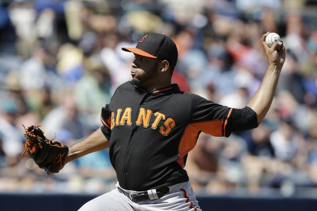 Stock Up, Stock Down for San Francisco Giants' Top 10 Prospects for Week 11