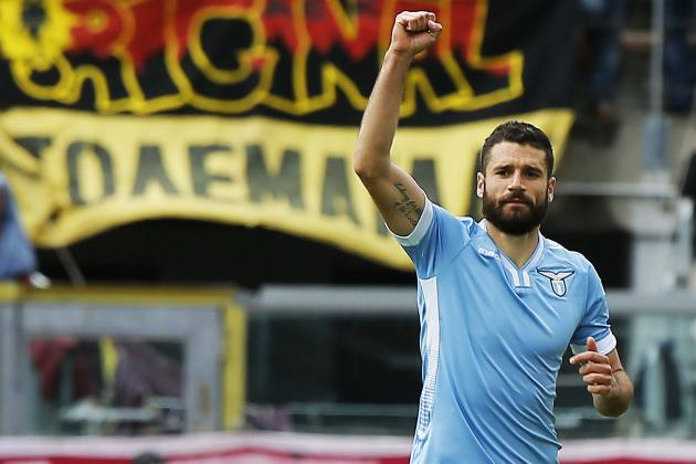 Liverpool Transfer News: Antonio Candreva, Xherdan Shaqiri Blows Dealt to Reds