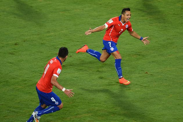 Spain vs. Chile: Date, Time, Live Stream, TV Info and 2014 World Cup Preview