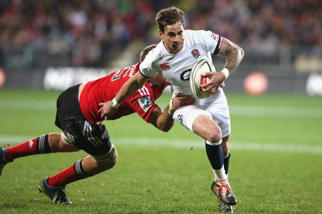 England Claim 38-7 Win over Crusaders in Christchurch