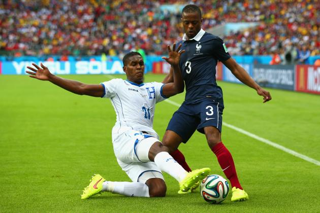 Why Patrice Evra Is Under Most Pressure for France Following Win vs. Honduras