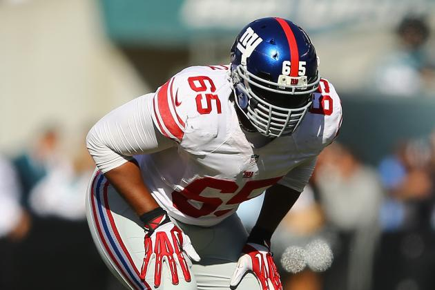 The Injury That's Cause for Concern on the Giants' O-Line