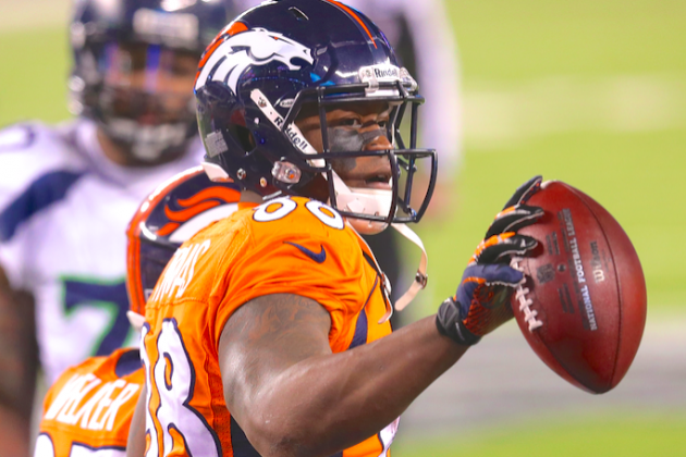 Demaryius Thomas Extension Could Be a Challenge for the Denver Broncos