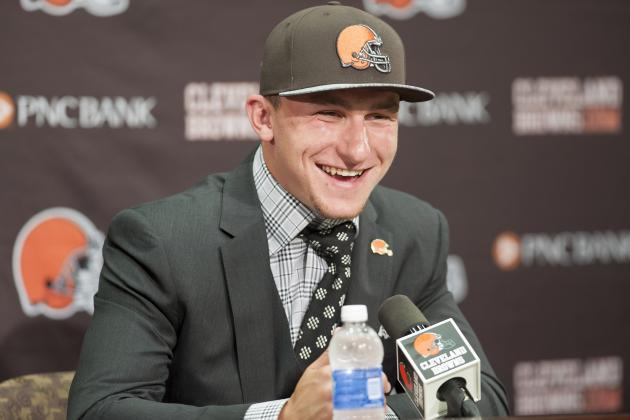 Johnny Manziel Signs with Browns: Latest Contract Details and Analysis