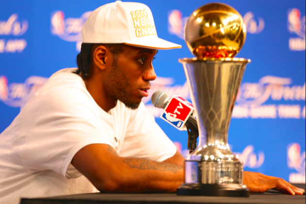 After Star Turn in NBA Finals, Spurs' Kawhi Leonard Faces True Test of Talents