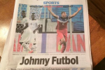 John Brooks Dubbed 'Johnny Futbol'